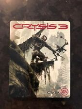 Crysis 3 Steelbook Case PS3 PS4 Excellent Condition NO Game