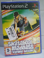 SKATEBOARD MADNESS PLAYSTATION 2 PS2 PAL ITA NUOVO