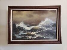 Matt Thomas United States 1943  Seascape Oil on Canvas 36x24