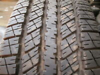 P265/70R17 Goodyear Wrangler HP Used 265 70 17 113 S 10/32nds