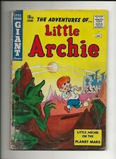 LITTLE ARCHIE GIANT COMICS #18 1961 ARCHIE BETTY AND VERONICA GD+