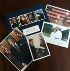 Lot George & Laura Bush Autographed Photo, Ronald Reagan, Bush Presidents Dinner