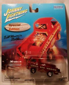"Bill ""Maverick"" Golden's Dodge Little Red Wagon Anniversary Johnny Lightning1:64"