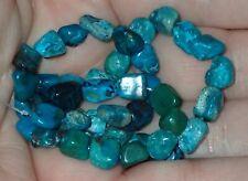 40 Rare Antique Indo - Tibetan, Tibet Turquoise beads, 5-9mm, #S2963
