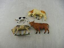 Lot de figurines / animaux de la ferme, Starlux, Jim