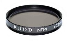 Kood ND4 2 stop Neutral density filter Made in Japan 40.5mm