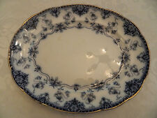 "Sampson Hancock & Sons Flow Blue Blenheim 14 3/4"" Serving Platter 11-3"