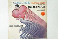 Zizi Jeanmaire Zizi Je T'aime chansons de Serge Gainsbourg CBS 64865 LP45