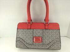 Women's GUESS Brand Red Black DOUBT Satchel Handbag - $90 MSRP - 10% off