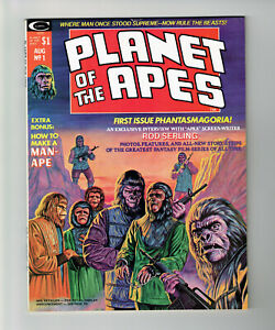 PLANET OF THE APES #1 MARVEL COMICS 1974 VF/NM MIKE PLOOG MOVIE ADAPT BRONZE AGE