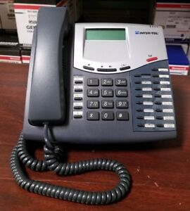 INTER-TEL 8520 Business Phones with LCD Display 550-8520 Axxess (Lot of 2)