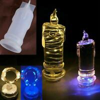 Epoxy Craft Wax Resin DIY Schimmel Kerzenlicht Herstellung Schimmel Silikon H0Q7