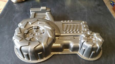 New listing large awesome tractor cake mould dish tray baking made in usa