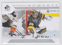 18/19 SP AUTHENTIC...MARC-ANDRE FLEURY...AUTHENTIC MOMENTS..CARD # 113...KNIGHTS