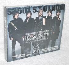 K-POP SS501 Vol.1 S.T 01 Now Taiwan Ltd CD+DVD (digipak)