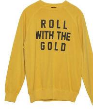 Insight Roll Gold Crew Sweatshirt (S) Masala