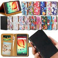 For Various Alcatel SmartPhones - Flip Leather Smart Stand Wallet Cover Case