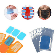 Electronic Muscle Stimulator Toning Conductive Gel Pad Replacements Stickers UK