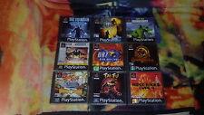 JUEGOS PLAYSTATION 1 PS1 PSX A ELEGIR ENVIO COMBINADO