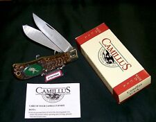 "Camillus #10H American Wildlife Knife USA ""Antelope"" Pewter Casting W/Packaging"