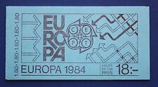 Sweden (1486a) 1984 EUROPA - Symbolic Bridge MNH booklet
