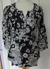 Monsoon Semi Fitted Blouses Floral Tops & Shirts for Women