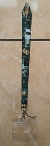 The Witcher Lanyard / Strap for Pin Trading inc. Waterproof Holder