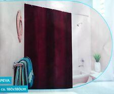 Duschvorhang Violett Badewannenvorhang Badevorhang Wannenvorhang 180 x 180 cm