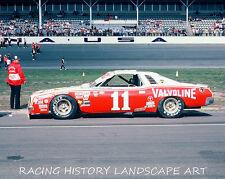 1975 DAYTONA 500 8x10 PHOTO #11 CALE YARBOROUGH VALVOLINE CHEVROLET RACING CAR