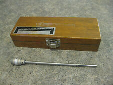 VTG Profilometer Stem Model LC 2-201 by Micrometrical Manufacturing & Wood Case