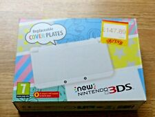 'NEW' NINTENDO 3DS WHITE CONSOLE BOXED COMPLETE + AR +MARIO CASE & 7 GAME BUNDLE
