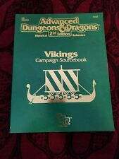 AD&D Vikings Campaign Sourcebook with Map - TSR