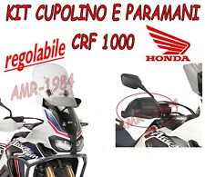 KIT CUPOLINO SCORREVOLE + PARAMANI GIVI PER  HONDA CRF 1000 2016 AF1144+HP1144