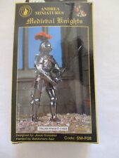 Figurine kit 54mm. Andrea. Chevalier armure italienne 1450