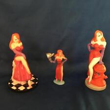 3 Walt Disney Sexy Jessica Figurines from Roger Rabbit
