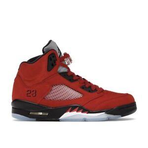 Size 9.5🔥Nike Air Jordan Retro 5 Raging Bull 2021🔥DD0587-600🚀Fast Shipping🚀