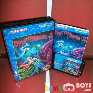 Splatterhouse 2 II Game Cartridge SEGA Genesis Complete Boxed USA Version NTSC-U