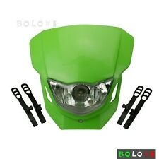 Supermoto Vision Headlight Head Lamp Fairing For Kawasaki KLX250S 06-14 07 08 09