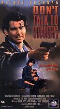 DONT TALK TO STRANGERS, SHANNA REED, PIERCE BRONSON, VHS 1995
