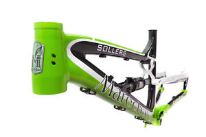 Marechal Sollers Full-Suspension All-Mountain/Enduro Bicycle Bike Frame Green