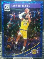 2018 Panini Donruss Optic Lebron James Blue Velocity #94 GEM MINT