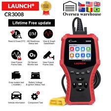 LAUNCH Creader 3008 OBD2 Code Reader Scanner Support obd2 + Battery test CR3008