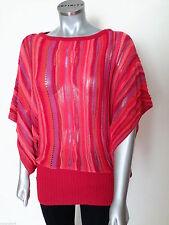 Gestreifte 3/4 Arm Damen-Pullover & -Strickware aus Baumwollmischung