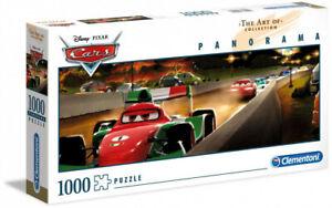 Clementoni 1000 Piece Panorama Jigsaw Puzzle - Disney Cars Racing