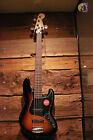 Squier Affinity Series Jazz Bass V 5-String Electric Guitar, 3-Tone Sunburst for sale