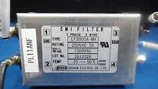 Soshin EMI Filter Model: LF2005A-NH 250VAC 5A