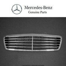 NEW Mercedes Benz W208 CLK-Class Front Center Grille Assembly Black Genuine