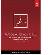 Adobe Acrobat Professional DC - digital delivery