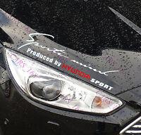 ☆New☆ Headlight Eyebrow Car Stickers Decals Graphics Vinyl For Hyundai (White)