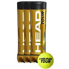 4 X HEAD Tour High Visibility Tournament Tennis Balls-16 Balls